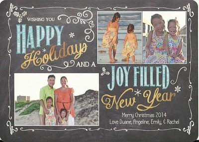 December 2014 - Chin Christmas Card
