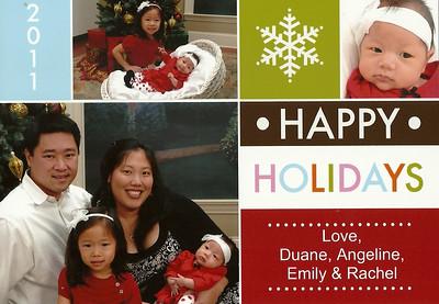 December 3, 2011 - Chin Christmas Card