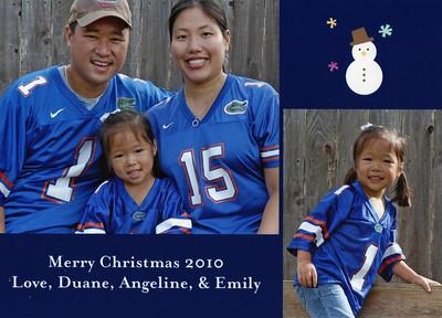 December 2, 2010 - Christmas Card