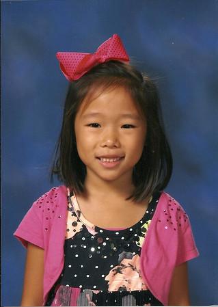 January 1, 2014 - Emily 1st Grade Photo