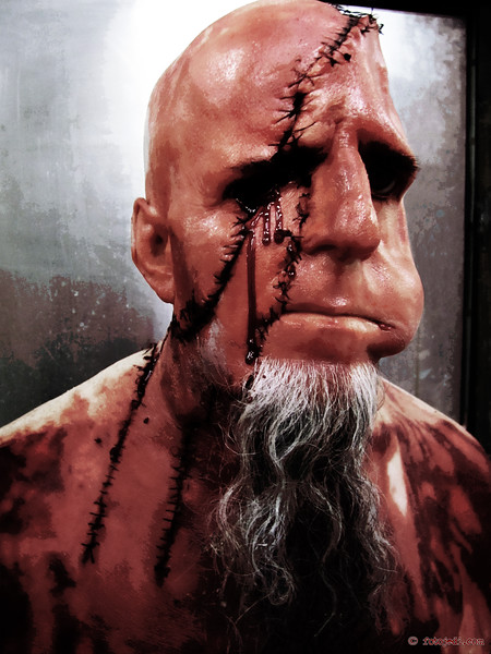 Photography for a Fangoria webisode, Blood and Guts featuring Scott Ian from the band, Anthrax.