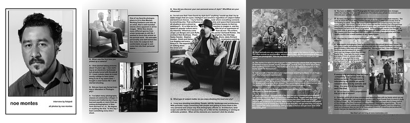 Article for Moonlight Art Magazine.  The photos were artist originals.  I created the layout design, and interviewed the artist.