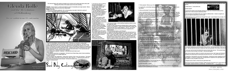 Article for Moonlight Art Magazine.  I did every portion of this article start to finish, including the interview.