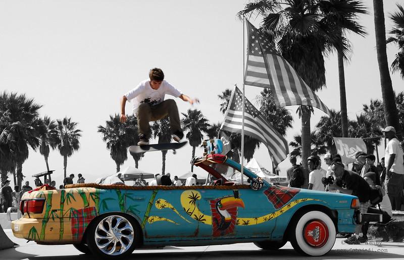 'Skateboarding in Venice'