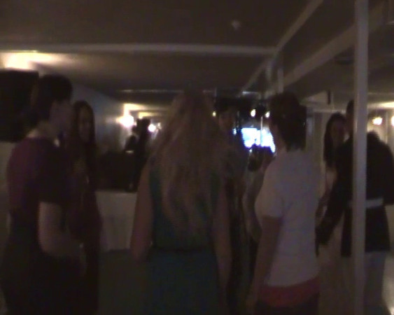 Steven and Erin with Family and Friends dancing to a song by Usher called YEAH!