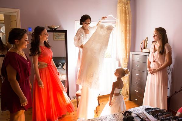 N&E, bride preparation
