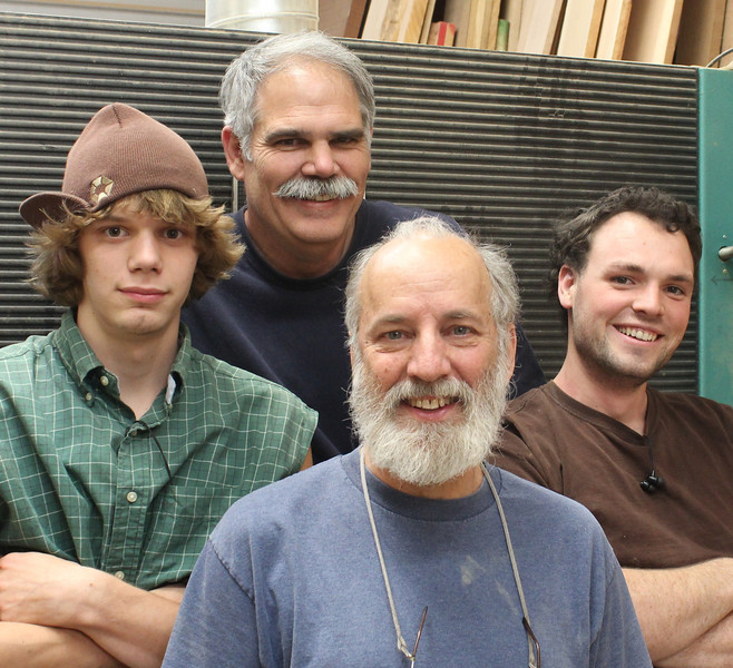 Left to right:  Jeff Cook, Mark Frey, Alan Dunn, Kenny Schmidt