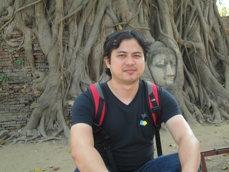JaysonConcepcion at Ayutthaya in Thailand