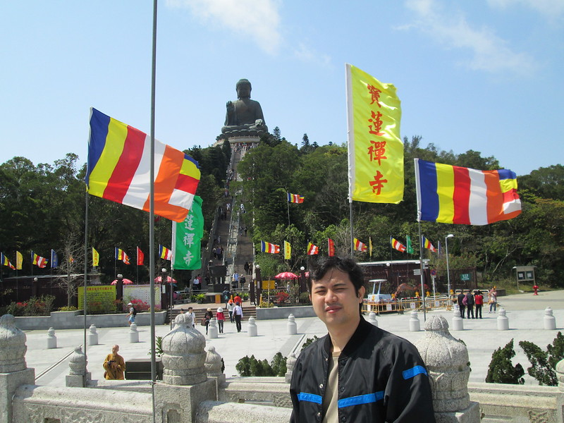 Jayson Concepcion at Tian Tan Buddha, Hong Kong