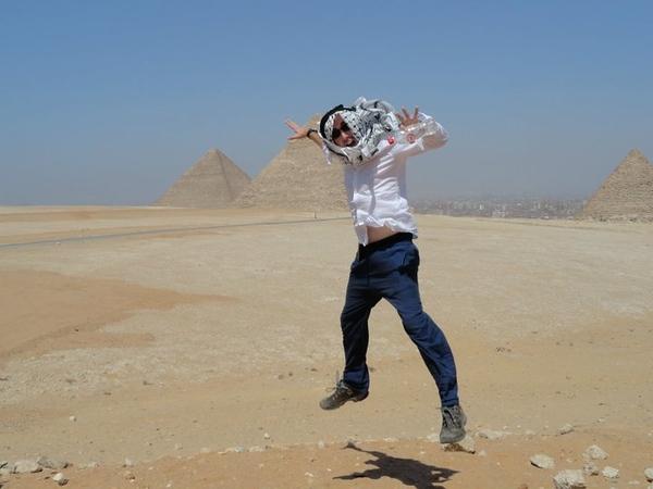 Glenn Kelly in Egypt