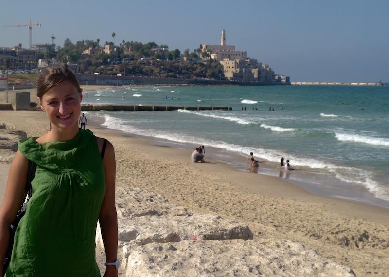 Erika Bisbocci in Tel Aviv
