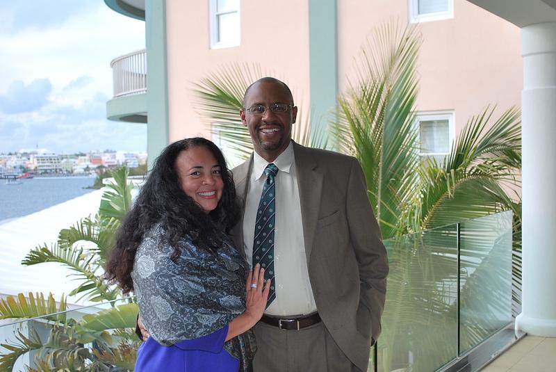 Ian & Tanya Fitzpatrick in Bermuda