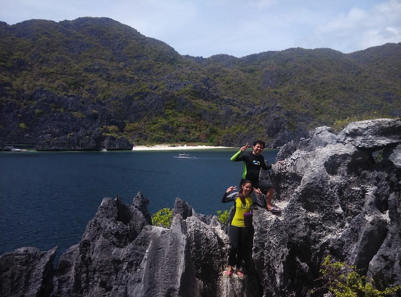 Jayson Concepcion on Matinloc Island, El Nido, Philippines