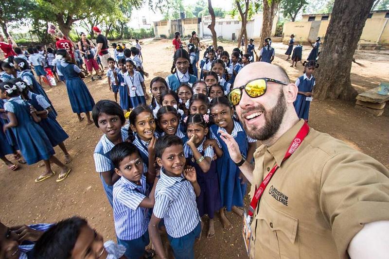 Glenn Kelly in India