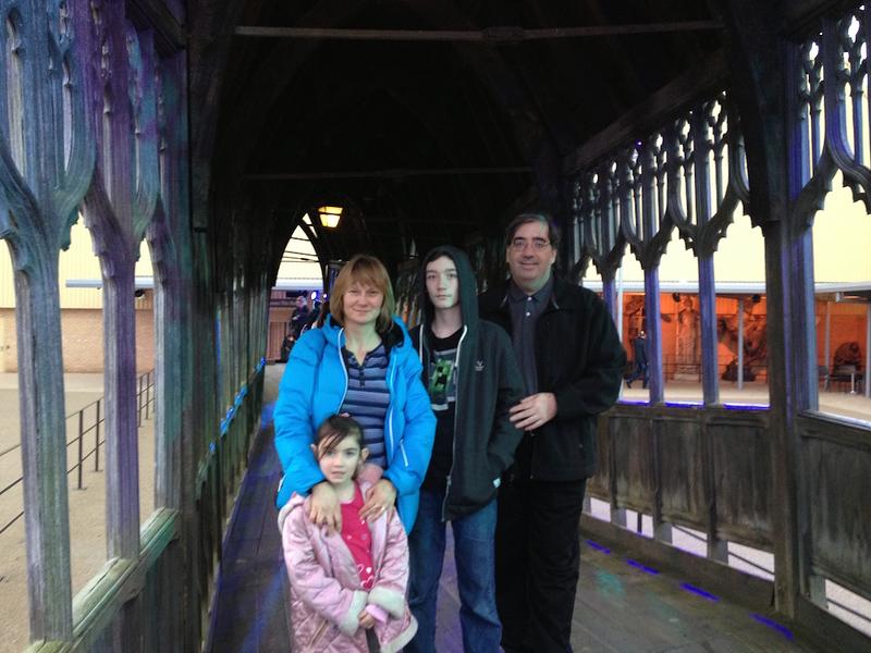 Jolanta Davis and her family