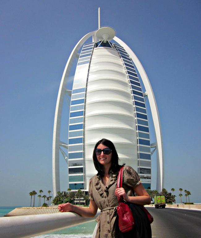 Katrina Houston in Dubai