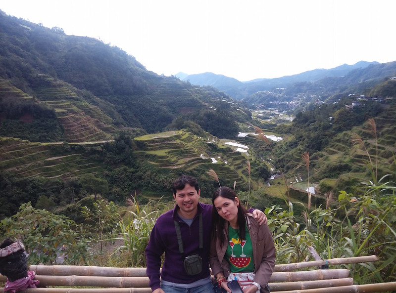 Jayson Concepcion at Banaue Rice Terraces, Philippines