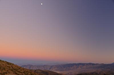 Looking toward Death Valley