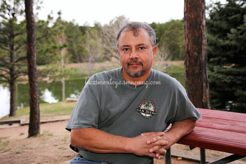 A Self Portrait at 60.  Fox Run Regional Park, Colorado, 4 May 2019