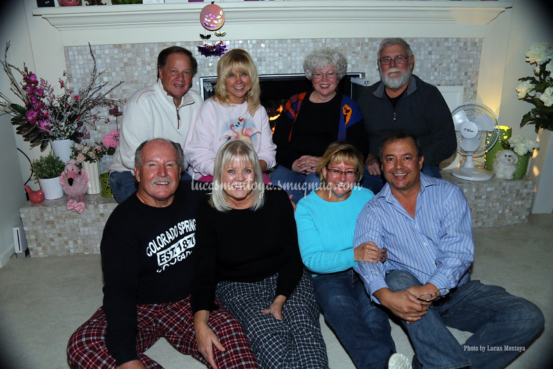 Dinner at Cope and Gayla's - December 2015