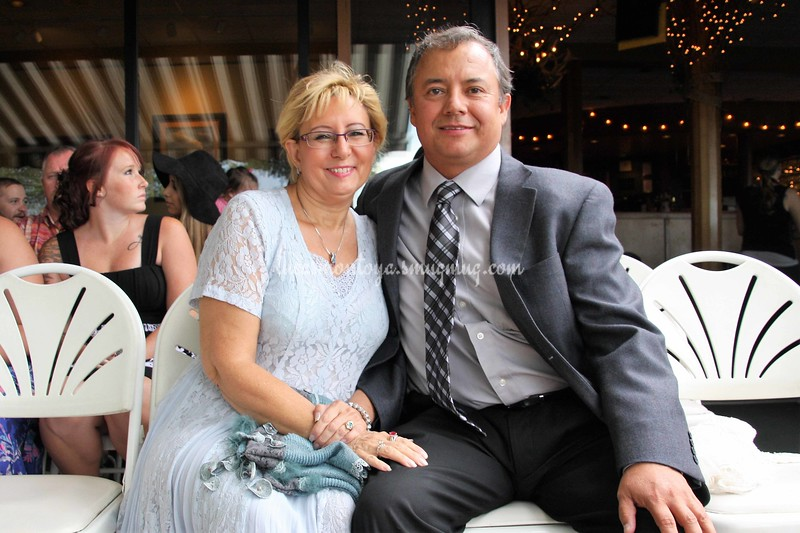 Kathy and Luke at Family Wedding, West of Golden, Colorado - August 2015