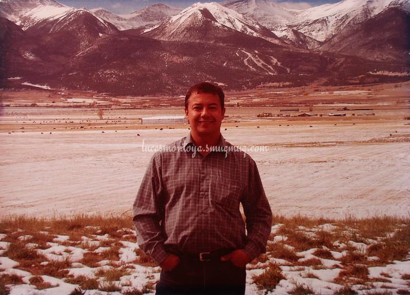 Sangre de Cristo Mountains near Westcliffe, Colorado - 2010