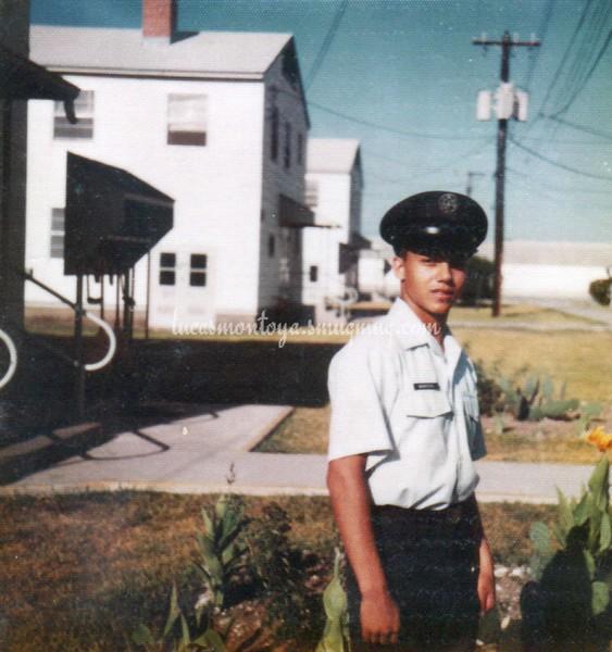 Basic Training, Lackland AFB, Texas - 1977