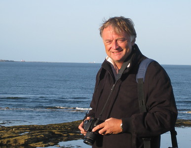 Neil on the Northumberland coast