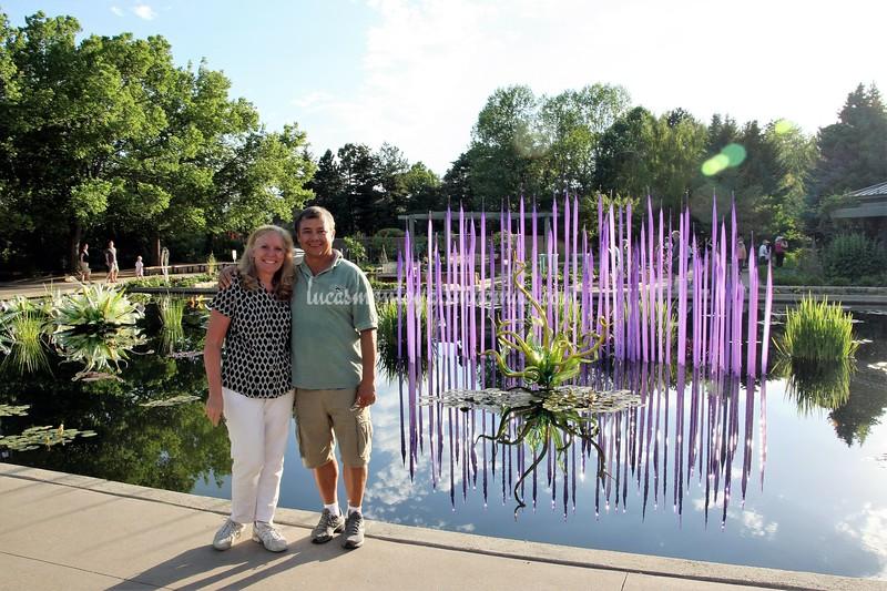 Jeanine and Luke - June, 2014