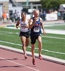 1500 meter final, Worlds