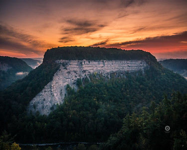 First morning on fall at Letchworth - Published in D&C - Sept. 2017
