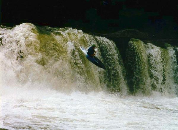 Wonder Falls, Big Sandy creek WV.