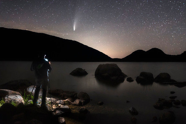 Photographing Comet Neowise