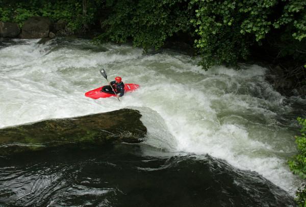 Me on the Savage River *Image taken by Ben Freeman. July, 08.