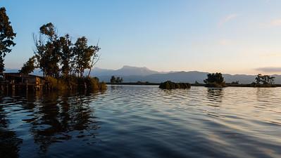 Il lago e la sua bellezza