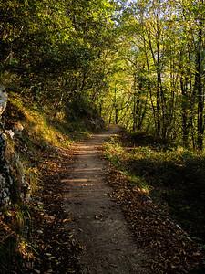 Lungo il sentiero