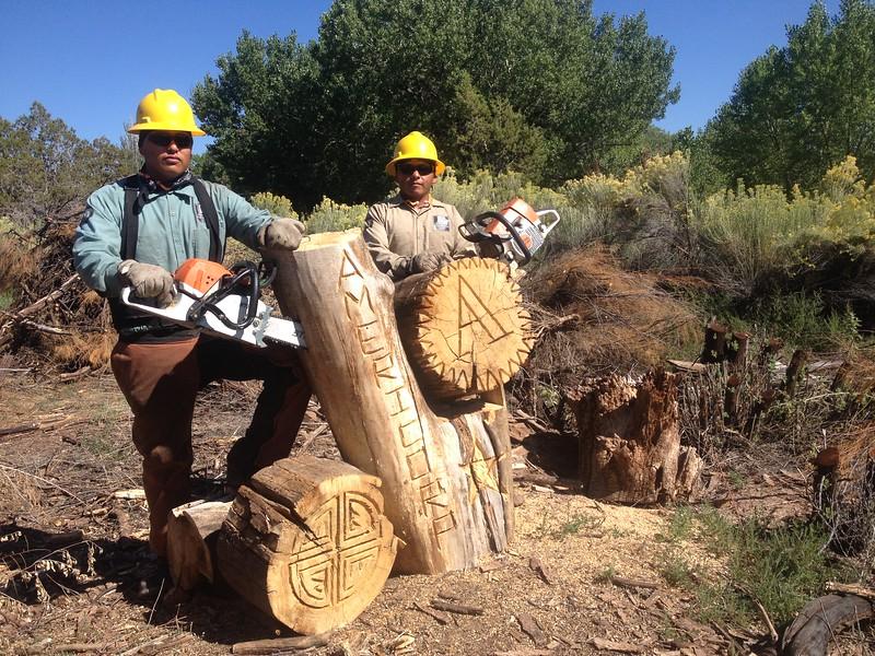 Southwest Conservation Corps in Gandado, AZ.