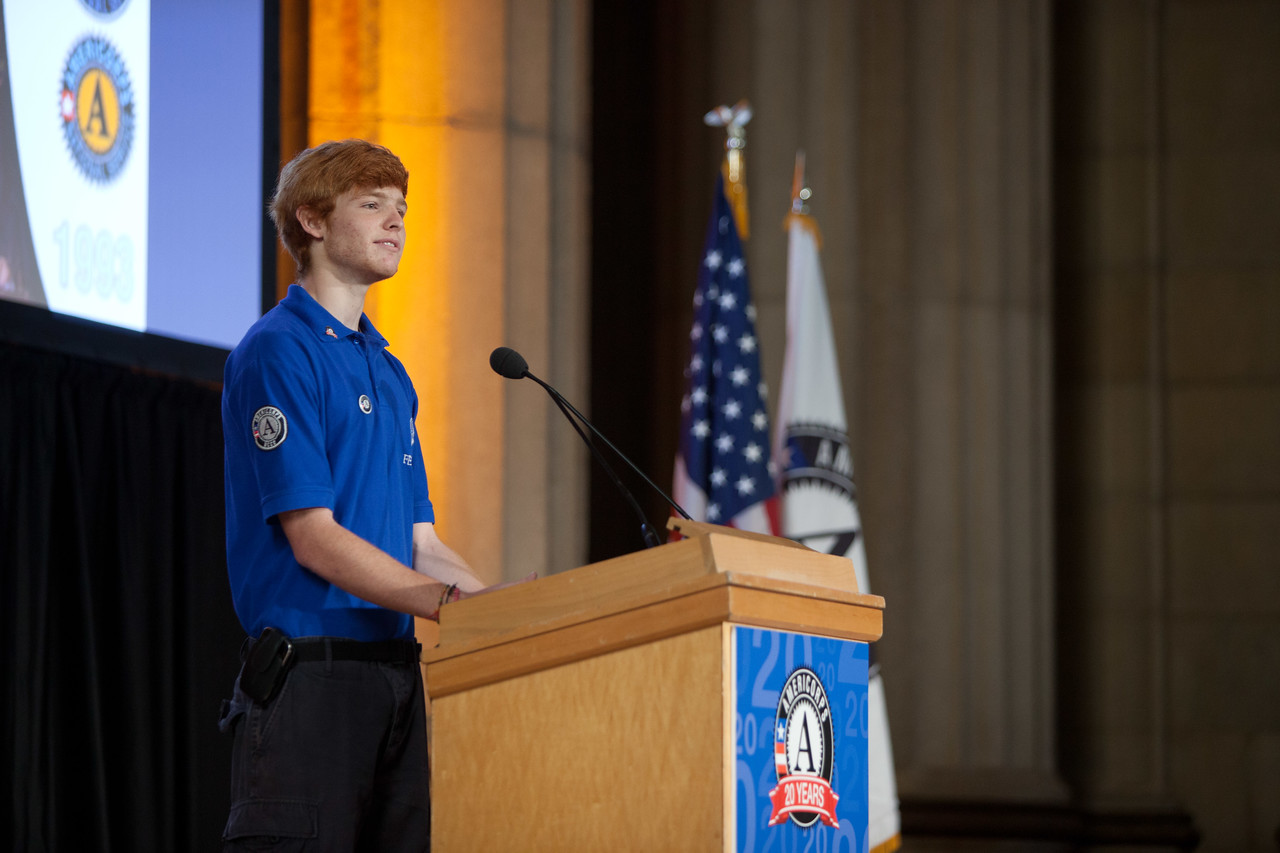 Pierson Phelan, NCCC FEMA Corps member. Corporation for National and Community Service Photo.