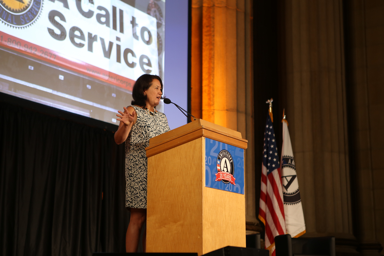Shirley Sagawa. Corporation for National and Community Service Photo.