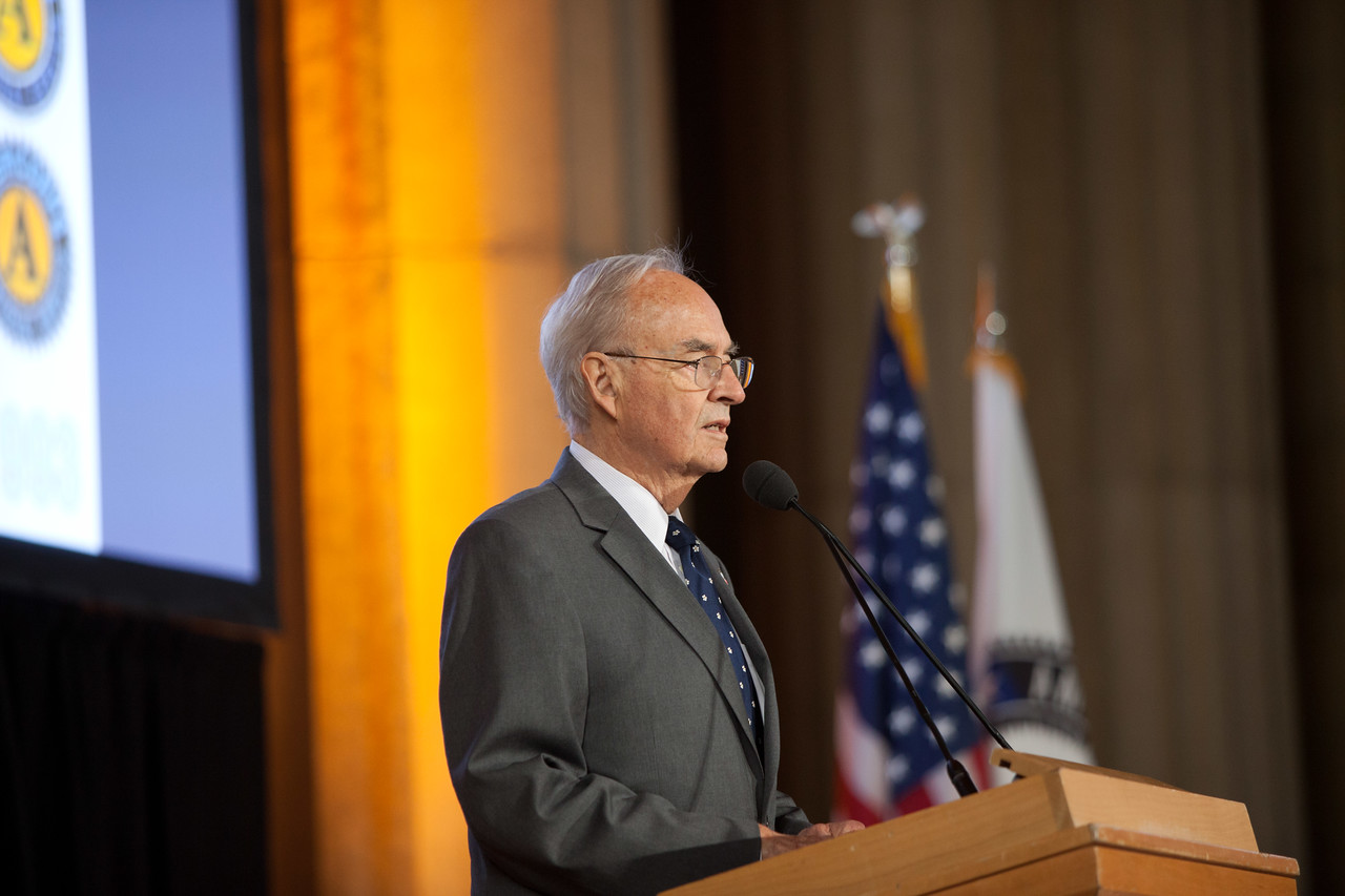 Harris Wofford. Corporation for National and Community Service Photo.