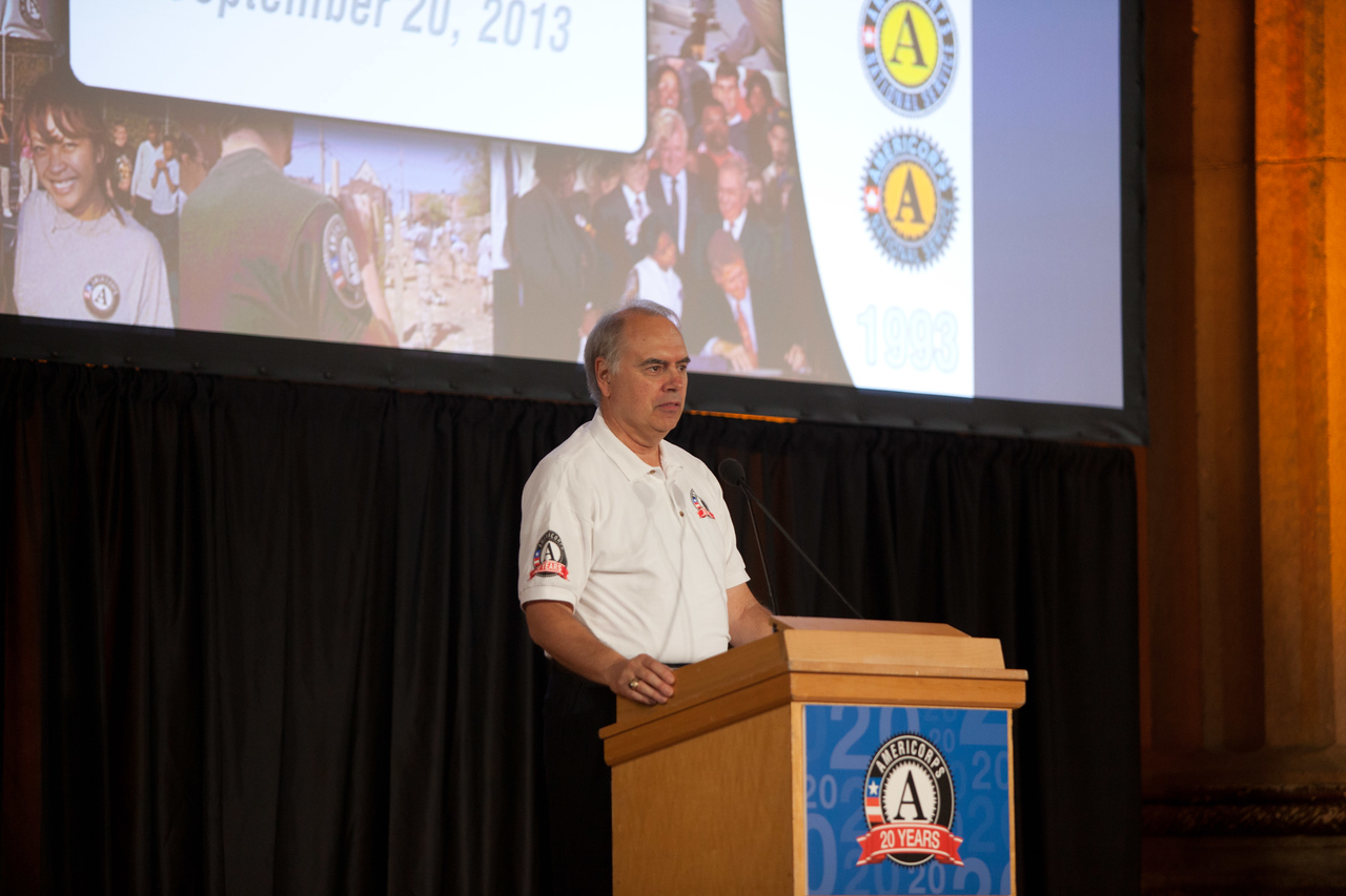 Director of AmeriCorps, Bill Basl. Corporation for National and Community Service Photo.
