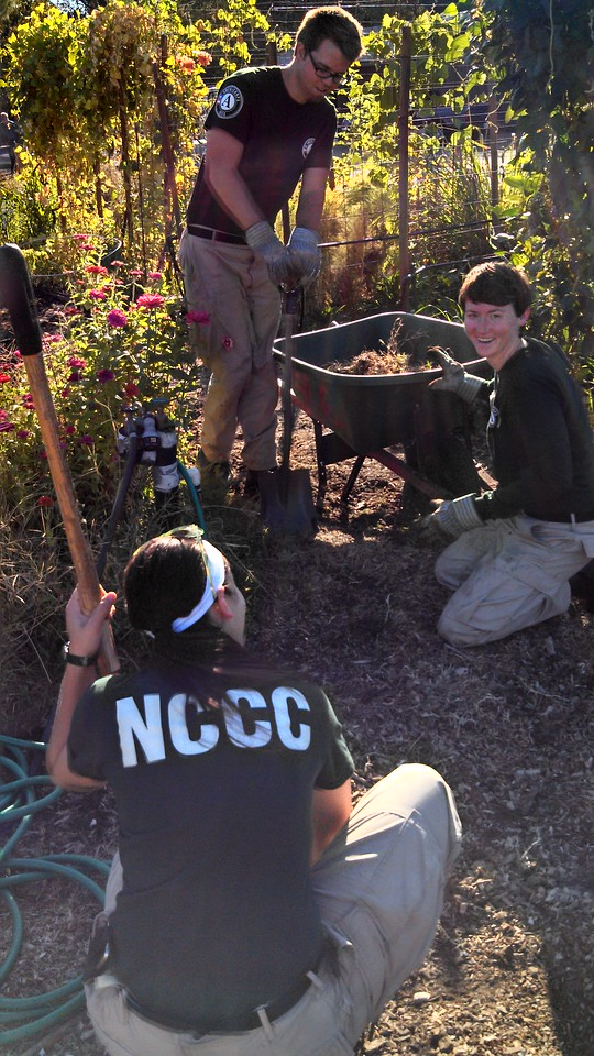 AmeriCorps NCCC. Corporation for National and Community Service Photo.