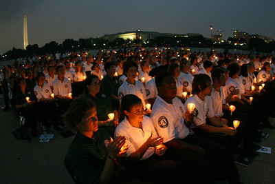 AmeriCorps members in Washington, D.C. Corporation for National and Community Service Photo.