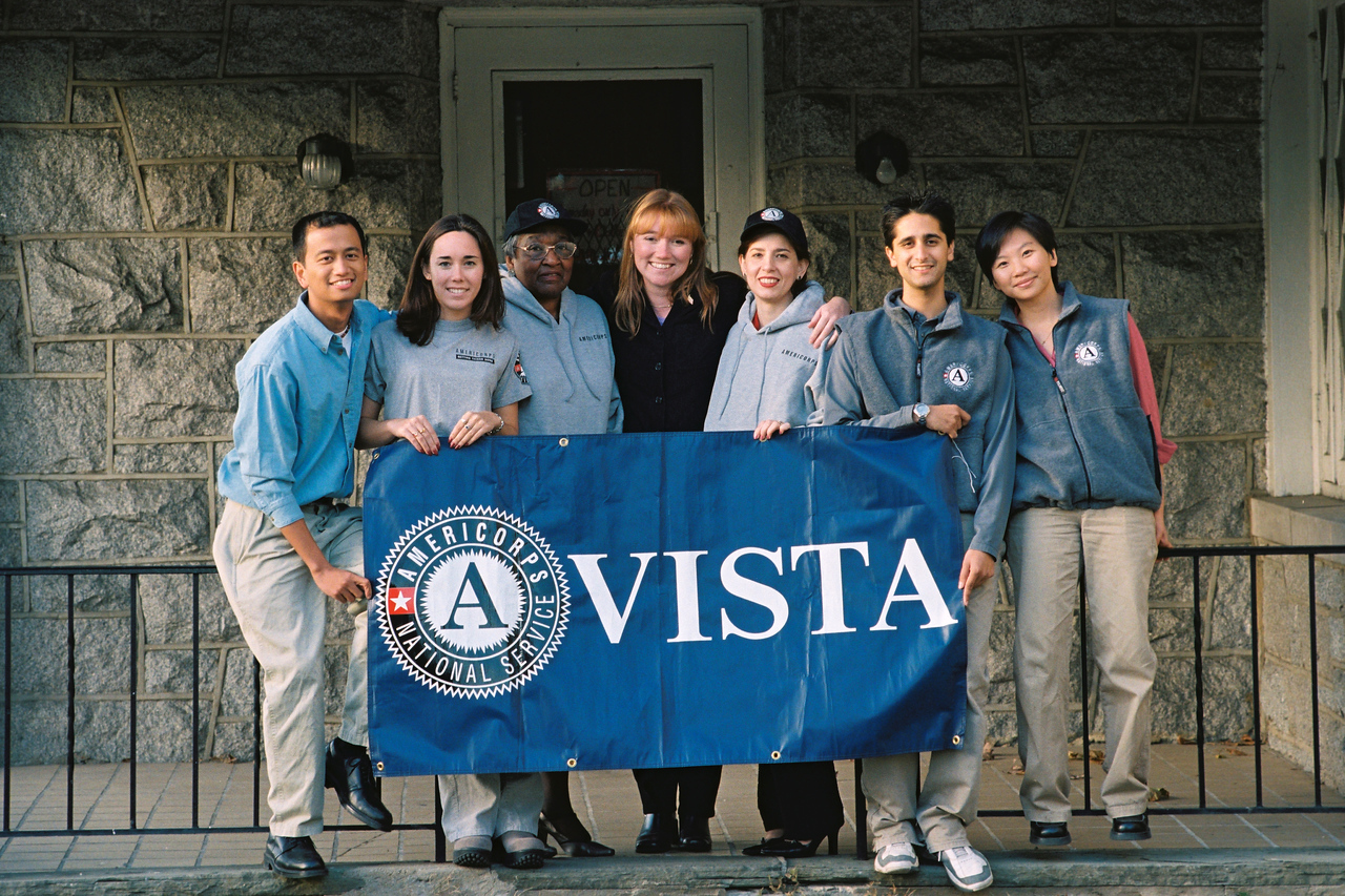 AmeriCorps Vista members. Corporation for National and Community Service Photo.