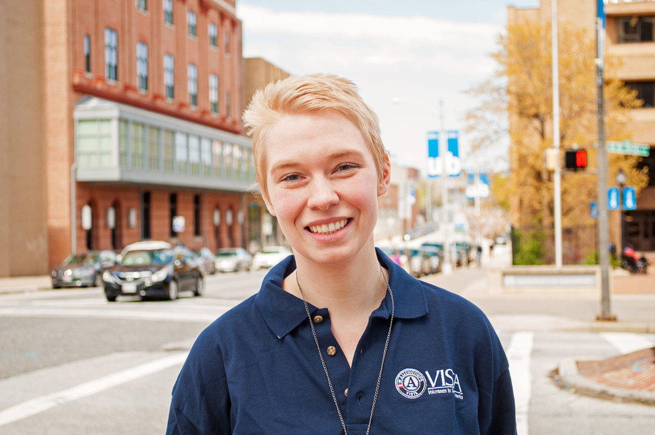 Kylea Wright is an AmeriCorps VISTA member serving with Strong City Baltimore's adult learner center where she works on workforce development and mentorship.