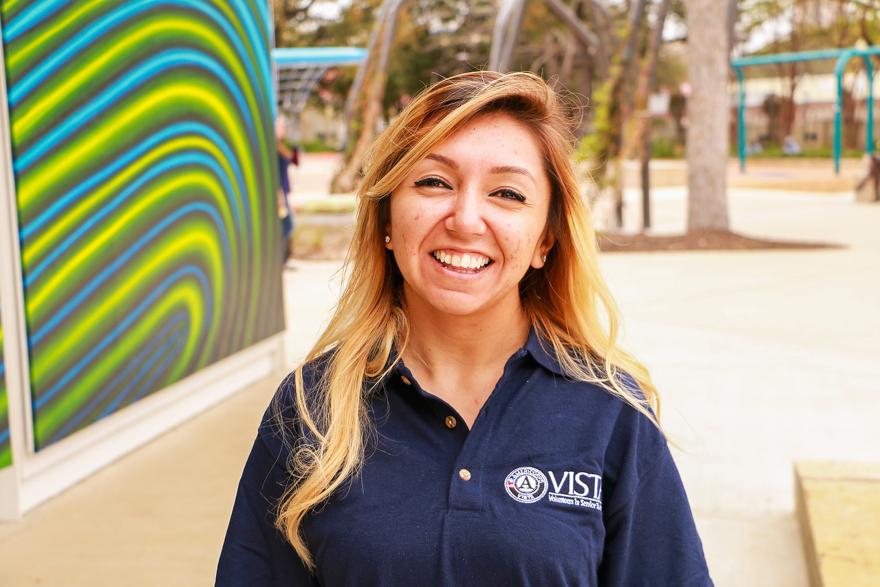Leslie Alfaro is an AmeriCorps VISTA member serving in San Antonio, TX.