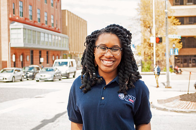 Azure Grimes is an AmeriCorps VISTA member serving with the Inner Harbor Project in Baltimore, MD, where she is developing a youth leadership program called Jr. Peace Ambassadors.