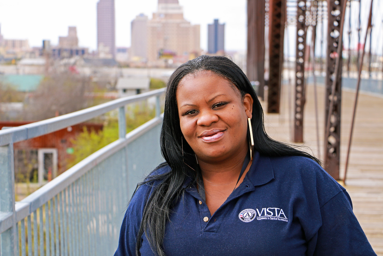 Lakisha Hazel is an AmeriCorps VISTA member serving with the Office of EastPoint (San Antonio) as a Community Engagement Specialist.
