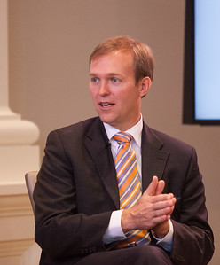 Mayor Ben McAdams of Salt Lake County speaking at the Pay for Success Grantee Announcement at Halcyon House in Washington, D.C. Corporation for National and Community Service Photo.