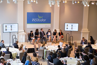 Panel discussion at the Pay for Success Grantee Announcement at Halcyon House in Washington, D.C. Corporation for National and Community Service Photo.